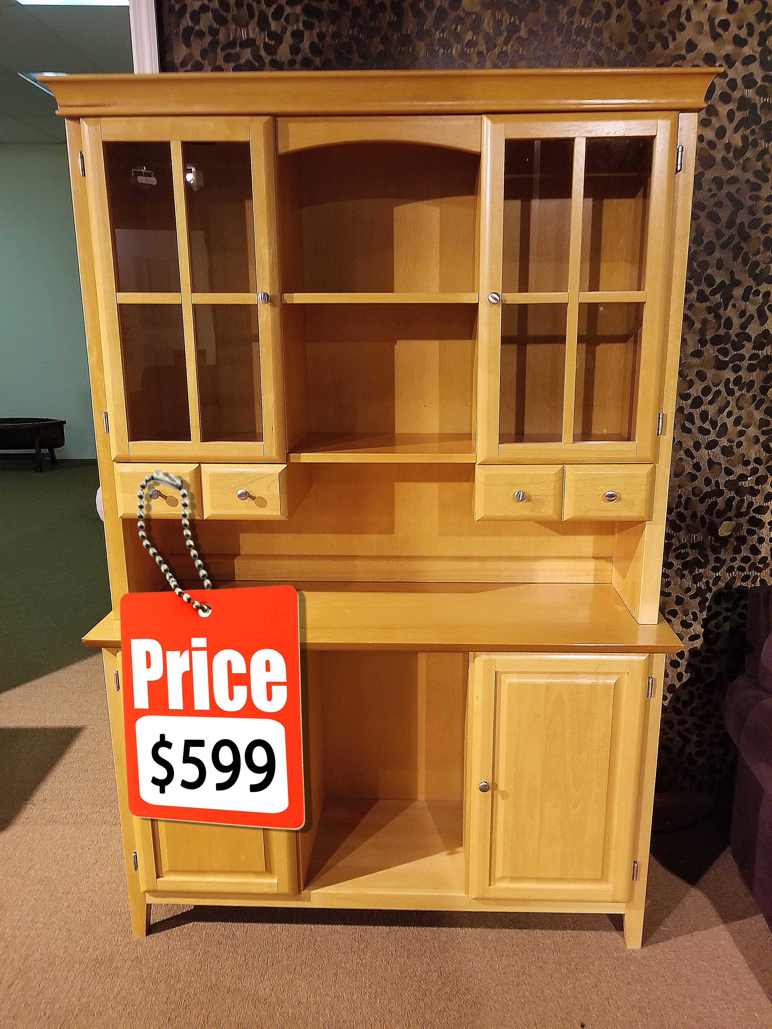 We buy and sell used refurbished furniture at tims furniture repair and refinishing -pine
